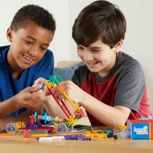 Stem materials include Makerspace K'nex at University City Schools